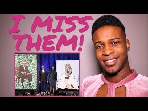 The Obama Portraits, Idris Elba, Chris Brown Argument, The Four Finale + More