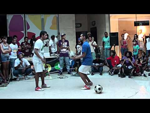 Street Skills at Bagatelle Mall of Mauritius - Teddy and Babà LP