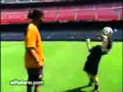 Ronaldino and boys skills