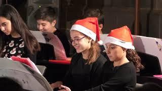 Encencido del alumbrado de Navidad en Puerto de la Cruz