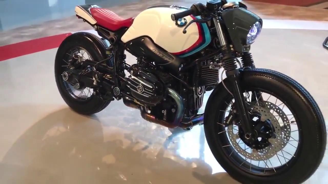 Hd Bmw R Ninet Custom Cafe Racer Youtube