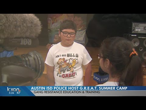 KXAN participcates in GREAT Summer Camp