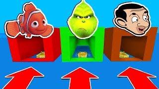 NE CHOISISSEZ PAS LE MAUVAIS BATEAU MINECRAFT !! Nemo, Le Grinch, Mr Bean | troll