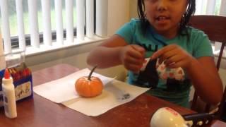 Pumpkin Decorating with Diva G #Pumpkin #PumpkinDecorating #PumpkinProject #DivaG