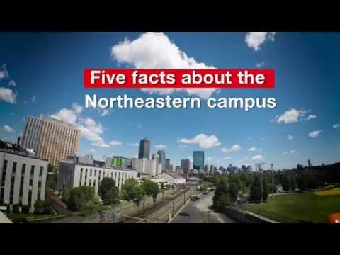 Five facts about the Northeastern campus