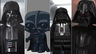 Эволюция Дарта Вейдера в мультфильмах и кино