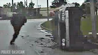 Brown Deer Police Department High Speed Chase (Dashcam).