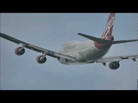 London Gatwick Airport | Heavy Departures & Specials 19/05/12