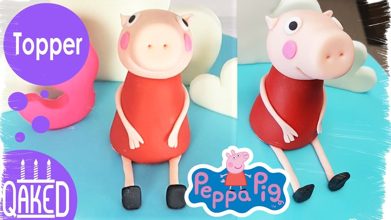 How To Make Peppa Pig Cake Topper