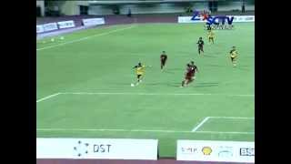 INDONESIA u19 (1-3) BRUNEI DARUSSALAM u21 Hassanal Bolkiah Trophy Full Highlights 11/8/2014