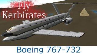 ksp boeing 767 732 concept plane b9 aerospace tweakscale