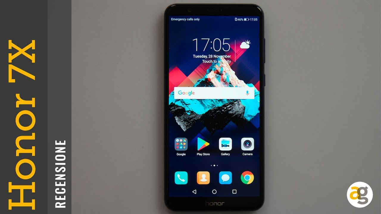 Recensione Honor 7x Youtube
