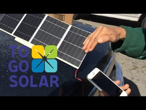 Togo Solar charger, now with a Blender!