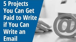 5 Projects You Can Get Paid to Write If You Can Write an Email - Inside AWAI