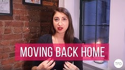 Making the Best of Moving Back Home | The Financial Diet