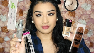 first impressions grwm new drugstore affordable makeup wet n wild elf bh cosmetics more