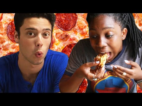 Thumbnail: People Try Pizza From Around The World