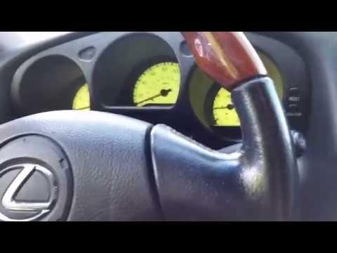 Disabling Lexus GS300 Tail Lamp Warning Light.