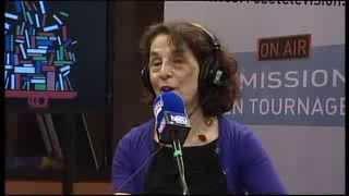 FOIRE DU LIVRE DE BRIVE 2013 : FRANCE BLEU LIMOUSIN – Gilda PIERSANTI