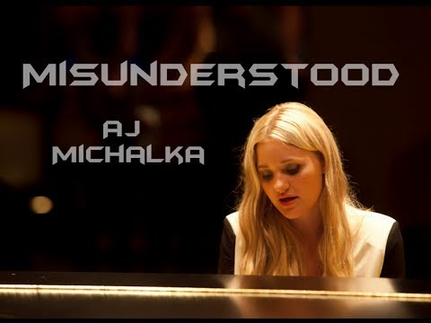 Misunderstood - AJ Michalka (Lyric Video)