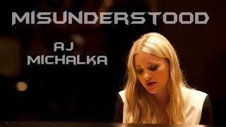 Misunderstood - AJ Michalka (Lyric Video)