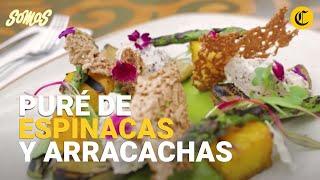 Somos receta: prepare un novedoso puré de arracacha y espinacas - El Comercio | elcomercio.pe