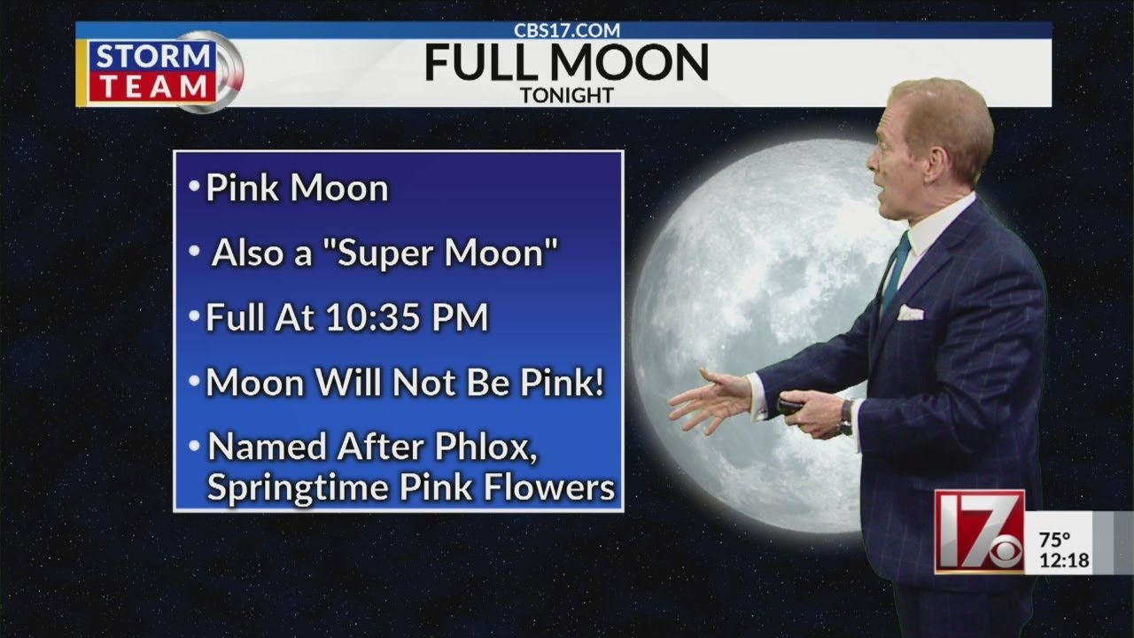Look up! Tonight's sky will have a supermoon - CBS 17