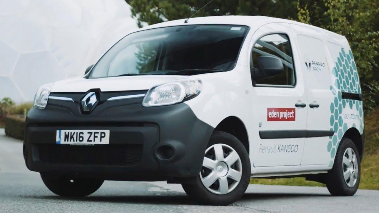How the electric Renault Kangoo is making the Eden Project greener than ever (sponsored) - Dauer: 2 Minuten, 59 Sekunden