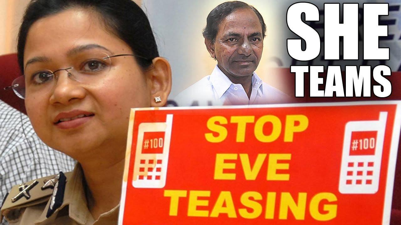"""CM KCR to extend """"SHE teams"""" all over Telangana - Teenmaar News"""