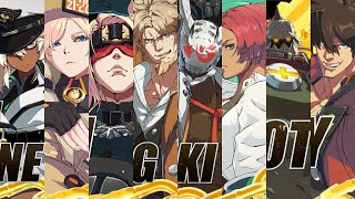 Guilty Gear Strive All Characters Revealed and Gameplay Trailers So Far OUTDATED!!