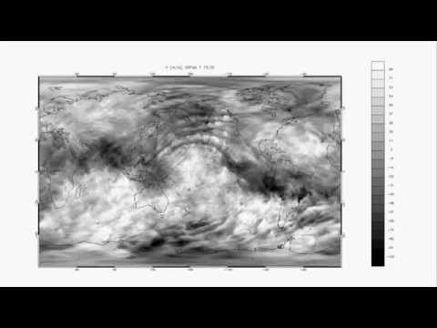 Watch invisible waves rumble through the atmosphere - NCAR high-resolution computer modeling