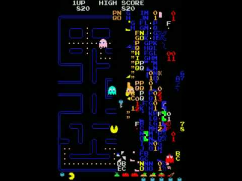 Pacman Killscreen