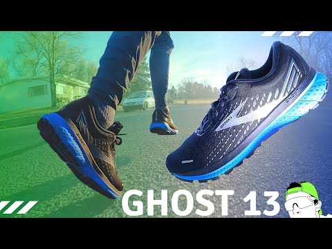 Daily Trainer Running Shoe: Brooks Ghost 13 Full Review {Surprised!!}