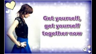 Christina Grimmie - Get Yourself Together (lyrics)