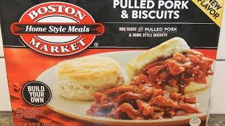 Boston Market: Pulled Pork & Biscuits Review