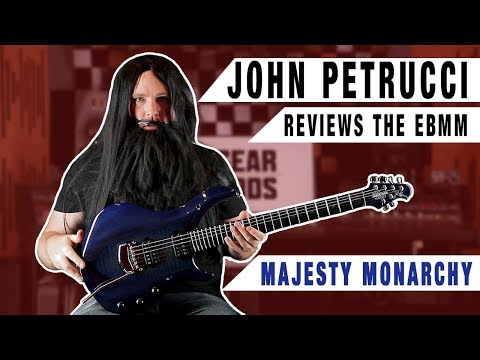 """""""JOHN PETRUCCI"""" Reviews The MAJESTY MONARCHY From Ernie Ball Music Man   GEAR GODS"""