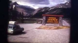 1967 Snow Cats Jasper National Park  Columbia Ice Fields 8mm movie