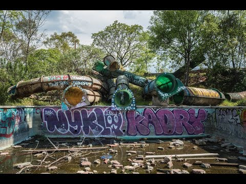Abandoned Water Park Atlantis - Mexico City !