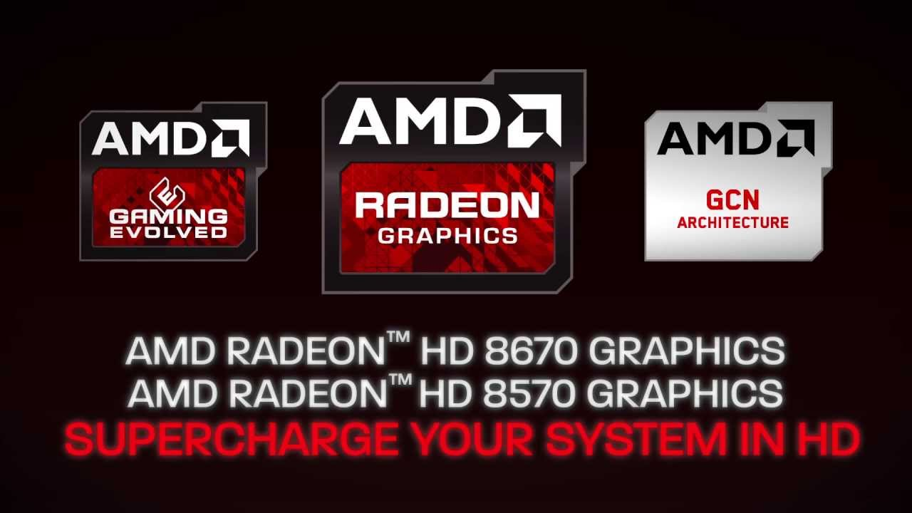 Drivers for AMD Mobility Radeon HD 8570 Graphics