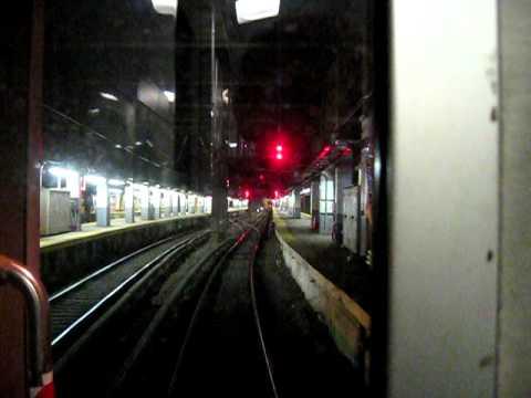 Amtrak 19 Through the Hudson River Tunnel