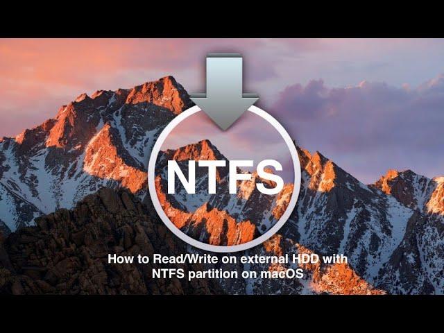 Ntfs for mac external hard drive