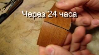 видео Как склеить линолеум в домашних условиях встык