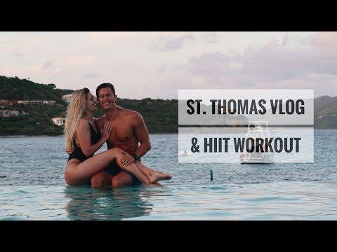 St. Thomas Vlog | Fat Blasting HIIT Workout