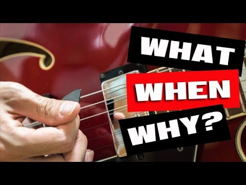 The What, When, Why of Guitar Scales & Keys