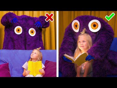Monstres VS Enfants / 9 Astuces Pour Se Protger Des Monstres