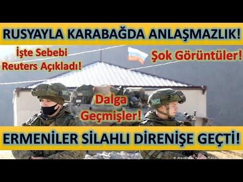 Ermeniler Çıkmıyor! Karabağda