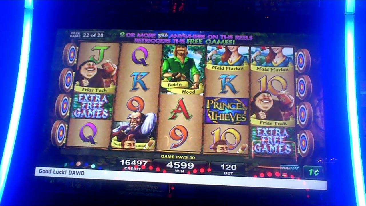Prince Of Thieves Slot Machine