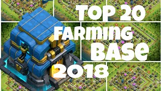 Best Top 20 Th12 Farming Base 2018 | Top 20 Th12 Base |