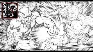 Digital Speed Drawing Video - Blackstone Comic Book Page - Using Sketchbook Pro
