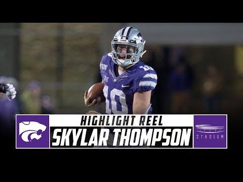 Kansas State QB Skylar Thompson Highlight Reel - 2019 Season | Stadium